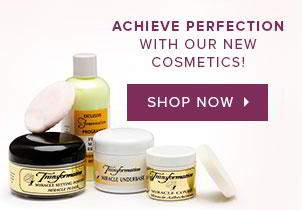 Achieve perfection with our new cosmetics