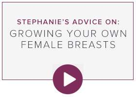 Growing your own Female Breasts