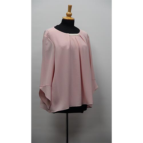 Coral Floaty Blouse