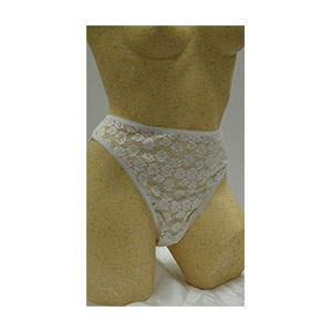Pack of 3 All Lace Front  Fuller Style Bikini Knickers