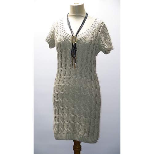 Mini Knitted Jumper Dress
