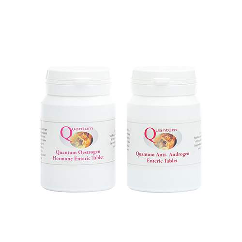 Enteric Anti Androgen and Oestrogen Duo Pack