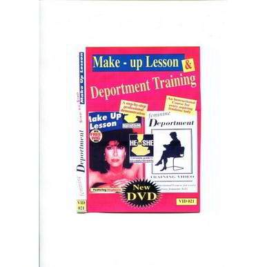 Transformation Makeup & Female Deportment Tutorial  DVD
