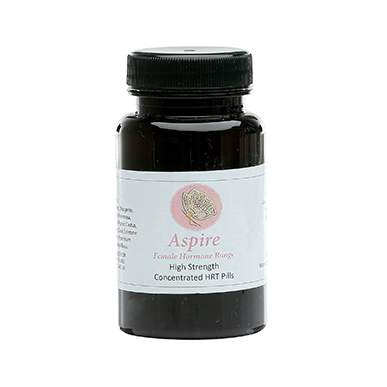 Aspire High Strength Concentrated HRT Female Hormone Pills