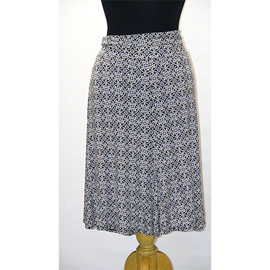 Large Knee Length Skirt