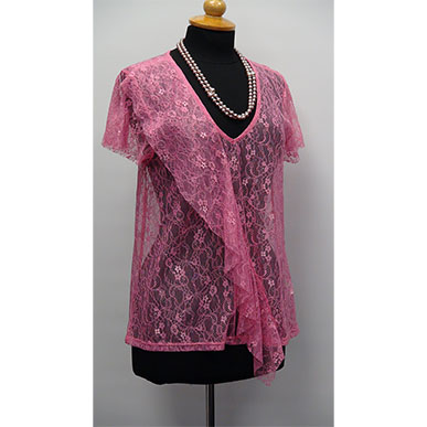 Pink All Lace Blouse
