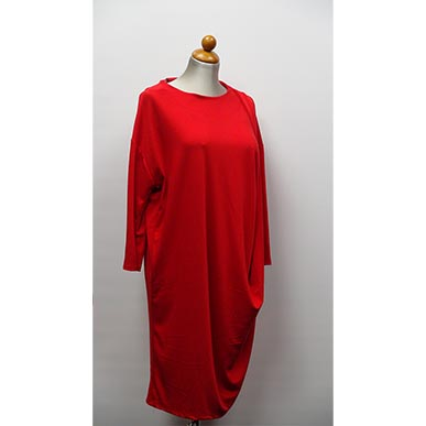 Plus Size Red Party Dress