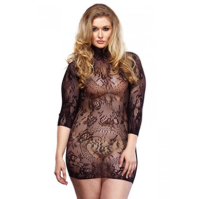 XL PLUS SIZE. All Lace Mini Dress