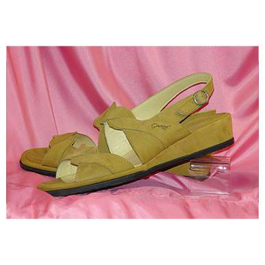 Caramel Leather Sandal