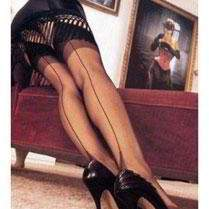 Fully Fashioned Seamed Stockings