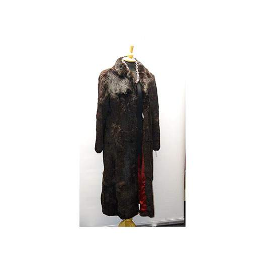Luxury Real Fur Long Length Coat