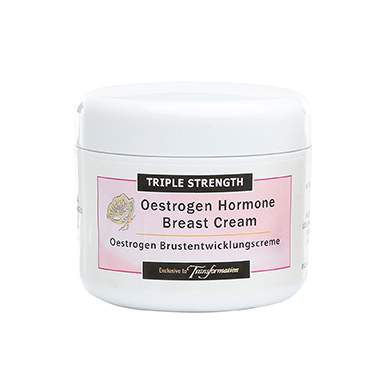 Oestrogen Female Breast Development Cream Triple Strength Treatment Course