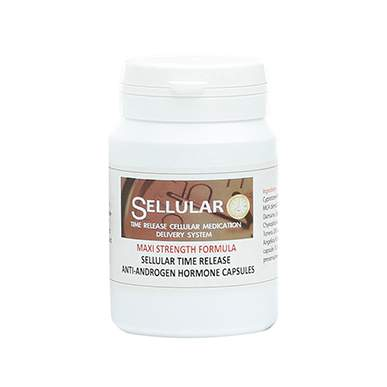 Sellular Time Release Anti Androgen Capsules