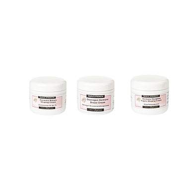Triple Strength Bottom, Hourglass and Breast Cream  Trio