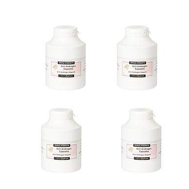 Triple Strength Anti Androgen Capsules 12 Month Supply