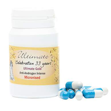 Ultimate Gold Intense Anti Androgen Micronised Capsules
