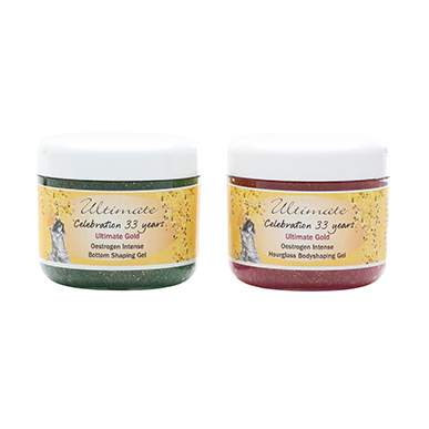 Ultimate Gold Intense Hourglass and Bottom Shaping Gel Duo Pack