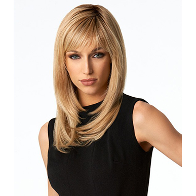 Nicole Multilayered Long Full Wig with Fringe